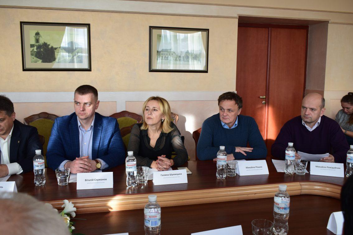 Віталій Сержанов, Галина Шумицька, Михайло Рошко та Михайло Повідайчик