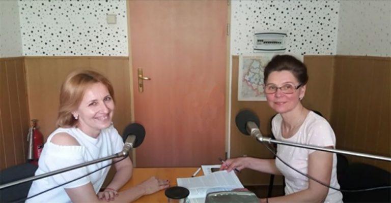 Галина Шумицька в ефірі радіо Ужгород
