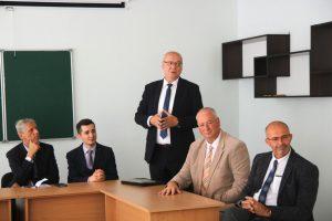 Перший у новому навчальному році міжнародний візит до УжНУ приймав філологічний факультет