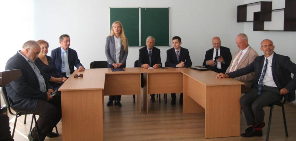 Мирослава Лендьел та представники чеської делегації