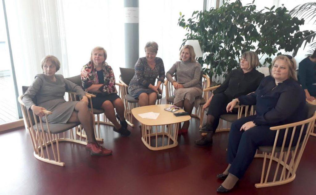 Представниці української делегації