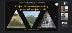 Віртуальна подорож Словаччиною для студентів-словакістів і богемістів УжНУ